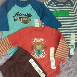 New Baby boy lot onesies cute